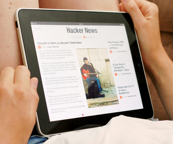 How Online News Evolved in 2010