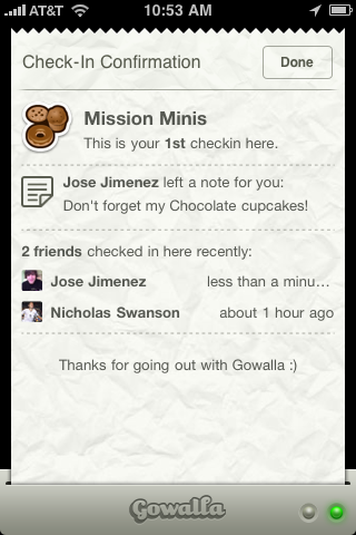 photo18 Gowalla Keeps Innovating   Invents Private Geo Messaging