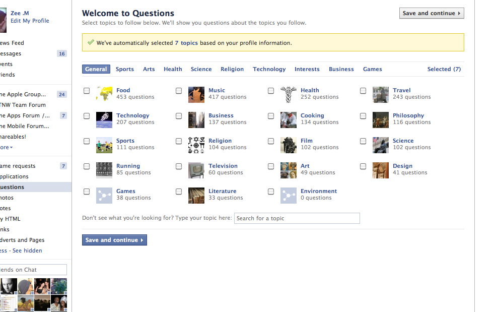 question2 Facebook Questions Is Now Available for All to Try [Updated: Not Anymore...]