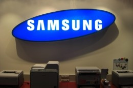 samsung lightbox signage 1 260x173 Samsungs new LTE 4G Android handset leaks, will be Verizon bound
