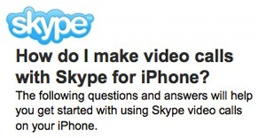 skype video call help Is Skype Video Chat coming to mobile in 2011?