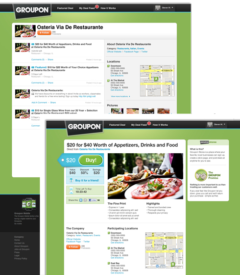 store store deal Groupon giving merchants more options & consumers a deal feed
