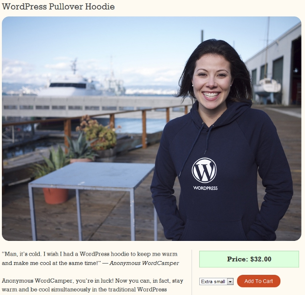 swag2 Like Wordpress? You can now buy some official WP swag online