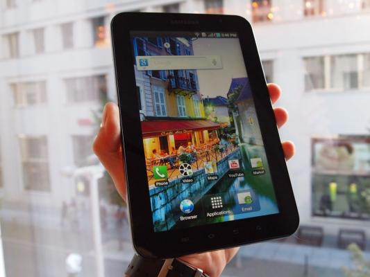 Samsung Galaxy Tab Passes One Million Units Sold
