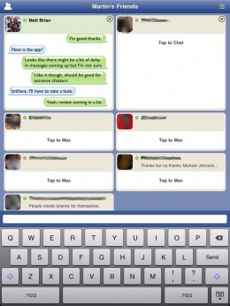 tap to chat main 260x346 Facebook Chat addict? Tap To Chat could be your dream app