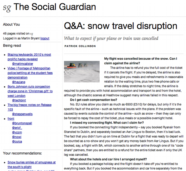 the social guardian 3 The Social Guardian points to the future of real time news sharing