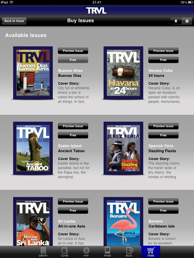 trvl store Forget Murdoch and Branson, could TRVLs gorgeous iPad magazine transform publishing?