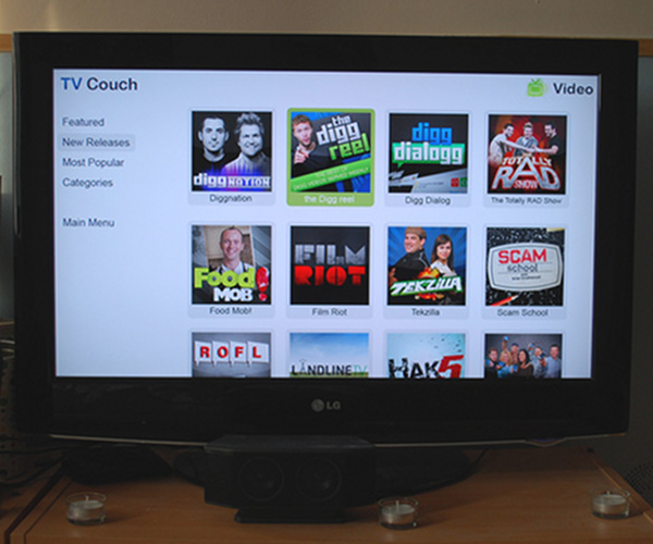 TV Couch wants to bring Home Theater to your browser