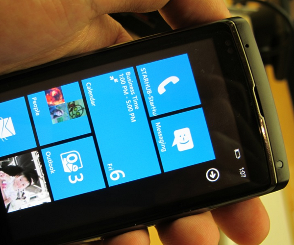 The first Windows Phone 7 update will be minuscule, not massive