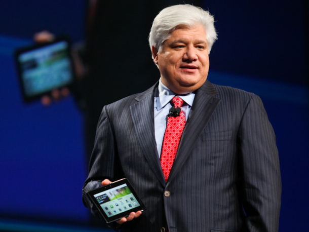 RIM demonstrates BlackBerry Playbook browsing capabilities on video