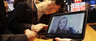 Image: A Motorola Xoom tablet is displayed during the first day of the 2011 International CES in Las Vegas