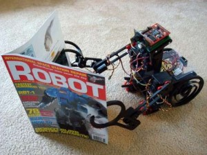 1coolrobot 300x225 New evolving robots crawl before learning to walk