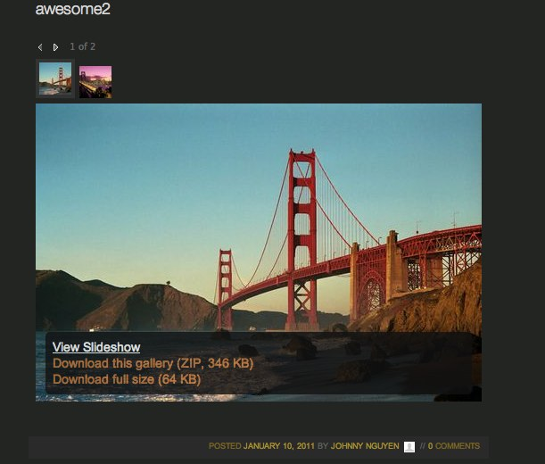 Posterous introduces photo slideshows from any page