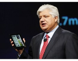 64271095 mike lazaridis 260x204 RIM expected to ship 1 million BlackBerry Playbooks in first quarter