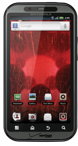 DROID BIONIC 260x483 Verizons first LTE phone? Motorolas dual core, 4.3 inch Droid Bionic.