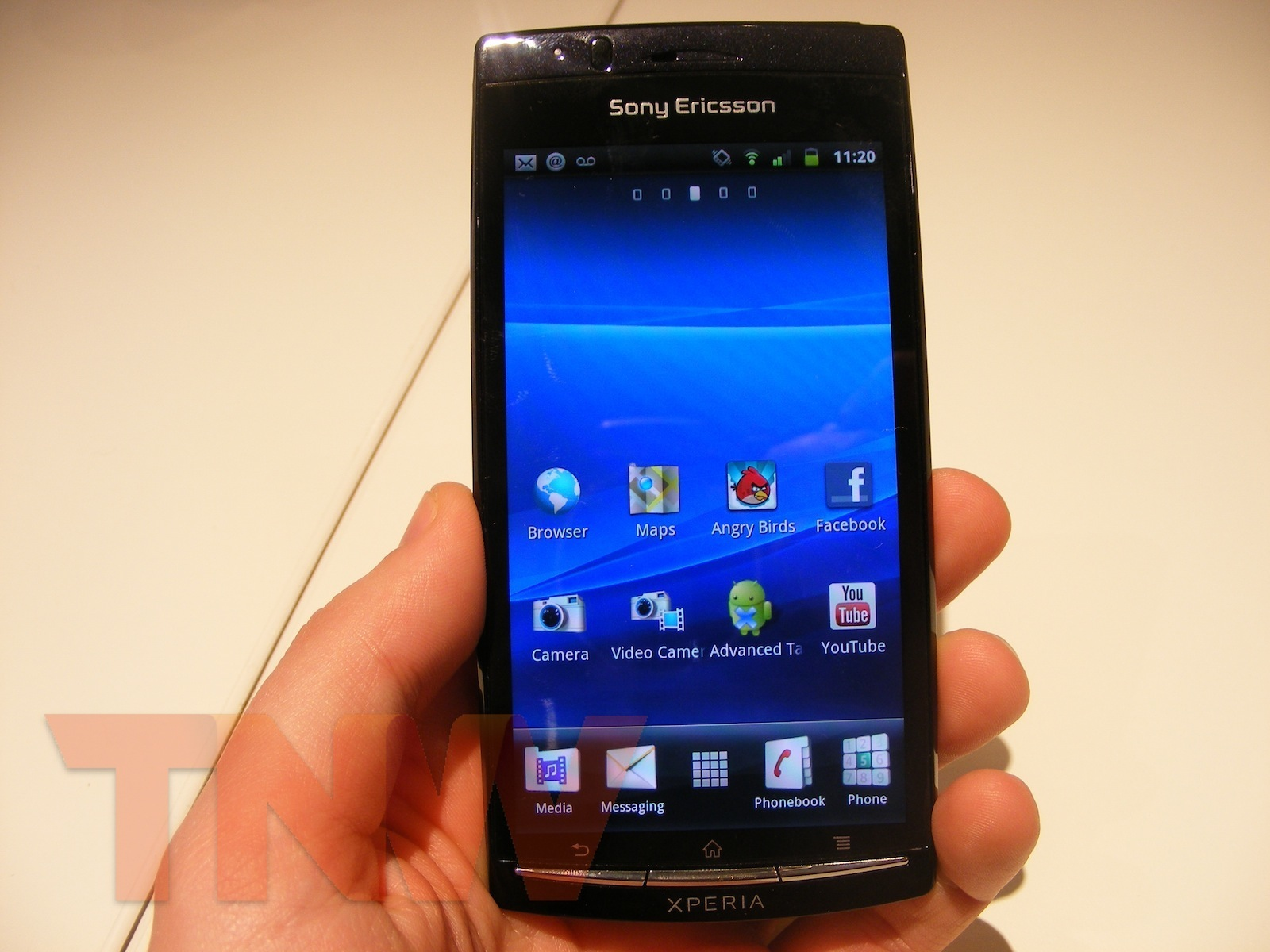 "Xperia Arc Handsets With Android 2.4 Were ""Misconfigured"""