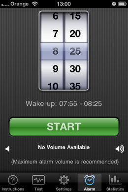 IMG 1484 260x390 App Store Classics: Sweeter dreams with Sleep Cycle.