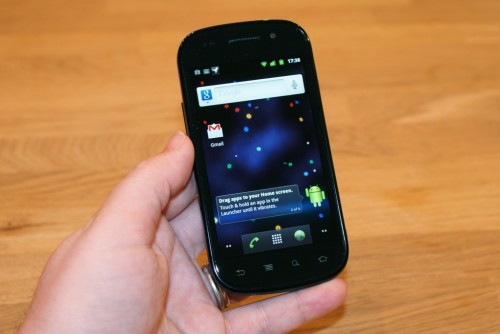 Nexus S 01 500x334 Google Acknowledges Nexus S Reboot Issues