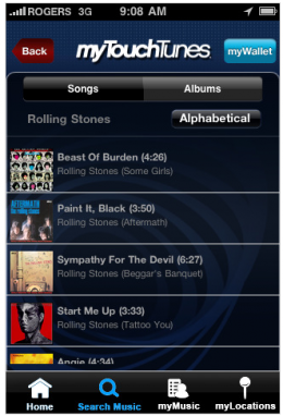 iPhone app lets you pick that jukebox track without leaving your bar