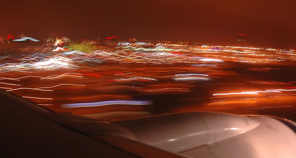 This twilight landing at LAX is absolutely mesmerizing [video]