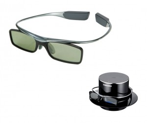 Samsung Super Light Glasses 300x252 How to watch 3D TV in style with the foxiest frames of 2011