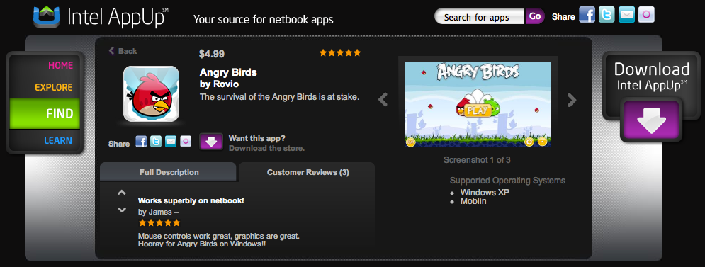 Screen shot 2011 01 04 at 3.17.05 PM Want to play Angry Birds on your laptop? Now you can.