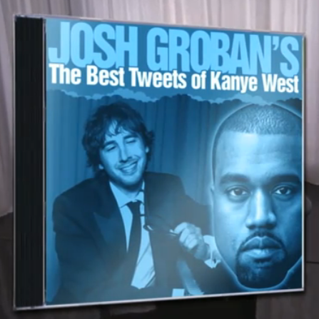 Josh Groban sings Kanye West tweets [video]