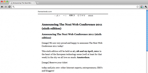 Screen shot 2011 01 10 at 13.10.11 500x249 Read articles offline in your browser with this Instapaper Chrome app
