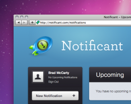 Screen shot 2011 01 10 at 6.54.47 PM 260x207 Notificant: Cloud based notifications for every Mac in your house