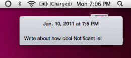 Screen shot 2011 01 10 at 7.05.59 PM 260x116 Notificant: Cloud based notifications for every Mac in your house