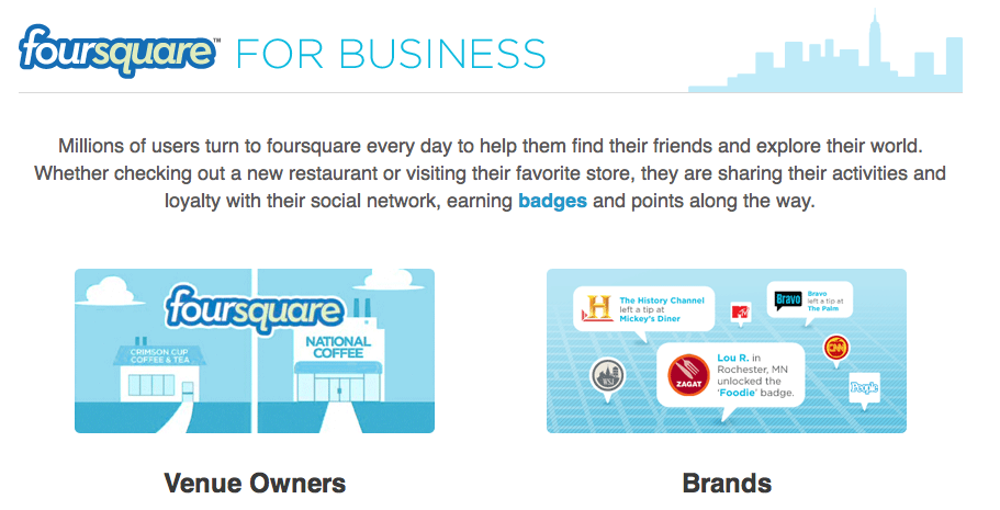Screen shot 2011 01 11 at 3.45.01 PM Foursquare Launches New Business Pages