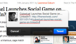 Screen shot 2011 01 14 at 14.18.57 260x150 Post links in seconds with this Twitter for Mac bookmarklet