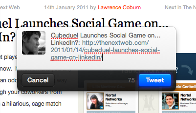 Post links in seconds with this Twitter for Mac bookmarklet