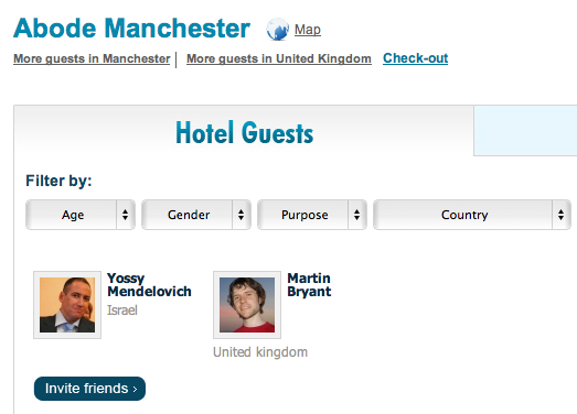 Screen shot 2011 01 18 at 18.34.05 Do we need a Foursquare for hotels? IMGuest thinks so