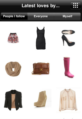 Screen shot 2011 01 20 at 12.26.24 Fashiolista launches iPhone app for fashion inspiration on the go