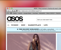 Screen shot 2011 01 21 at 16.40.58 260x216 Fully transactional ASOS shop to open on Facebook in late January
