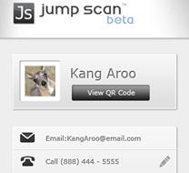 Jump scan QR app