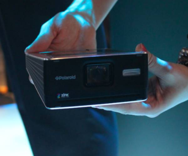 The Polaroid Camera Rethought and Digitized CES 2011: Polaroids GL30 Instant Digital Camera