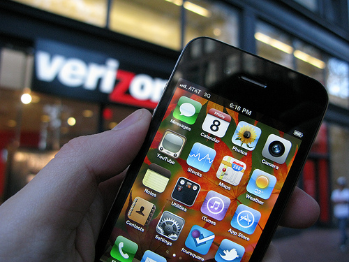 The iPhone is on Verizon and Android will be just fine.