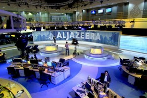 al jazeera iphone app 300x200 Al Jazeera Provides via Internet After Nilesat Cuts Signal