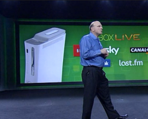 ballmer xbox 300x241 Microsoft sold 8 million Kinects in 60 days