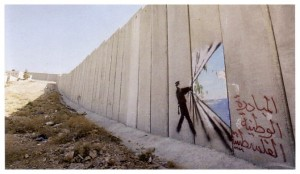 banksy 300x174 Palestinian Authority Shockingly Blocks AJTransparency.com