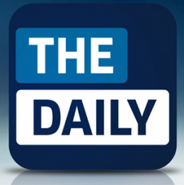 daily logo 260x262 Apple and Rupert Murdoch to launch The Daily on 2 February