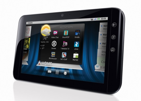 Dell Streak 7 Unveiled: Tegra 2 Powered On T-Mobile's HSPA+ Network
