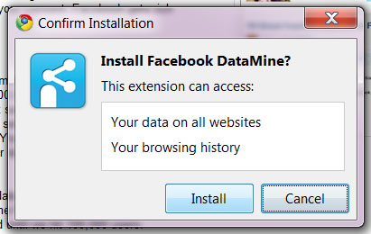 facebookdatamine1 Facebook DataMine: Sell your browsing data, make some cash.