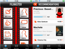 filmaster mobile 260x194 Filmaster launches API for movie buffs, prepares Foursquare for films