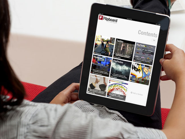 flipboard ipad app Apples iconic iPad: Here are the apps that helped it get there.