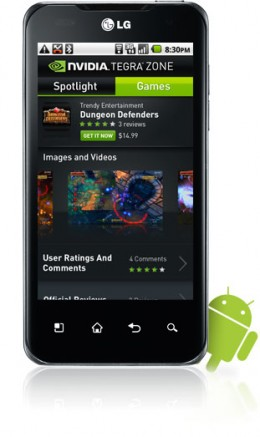 games lp 260x437 Nvidia announces Tegra Zone, highlights games for dual core Android handsets