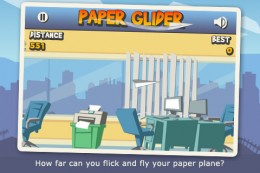 iPhone Screenshot 1 260x173 How Paper Glider Became The 10 Billionth App Download
