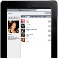 ipad Slacker Radio is now unlimited for Canadian listeners